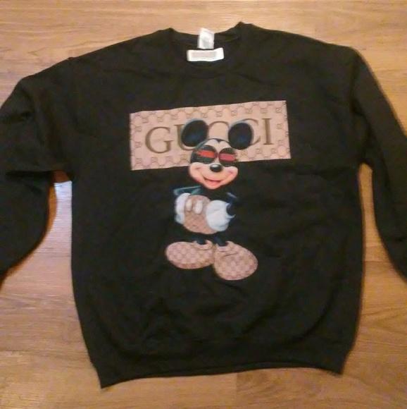 2703195e bootleg Shirts | Gucci Mickey Mouse Crewneck | Poshmark